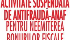 Antifrauda sigileaza afacerile evazionistilor