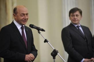 Antonescu: Basescu doreste sa fie premier si asta nu putem negocia