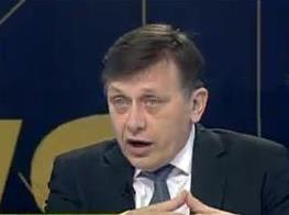 Antonescu: Daca Tariceanu accepta sa fie premier, va fi exclus, iar Basescu suspendat