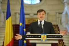 Antonescu: Imi asum responsabilitatea pentru 8 zile unde Basescu se afla de 8 ani