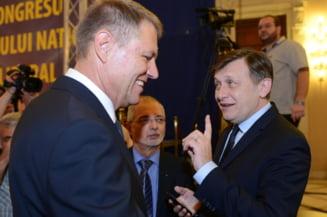 Antonescu: Iohannis nu primeste automat votul meu, dar are sanse sa-l obtina