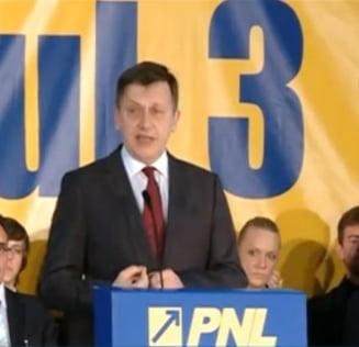 Antonescu: Pentru aceasta formula de majoritate am primit votul, USL nu s-a facut sa fie Ponta premier