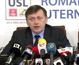 Antonescu: Victoria USL e coplesitoare, dar traiesc cu retinere marile bucurii