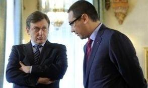 Antonescu, atac la Ponta: Nu eu m-am dus la Barroso sa-mi dea lista de comenzi, ca la chelneri (Video)