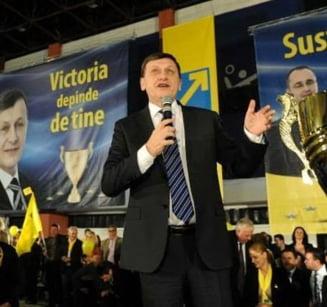 Antonescu, despre plangerea penala impotriva lui Basescu: Sa o semneze Firea, nu un intreg colhoz politic