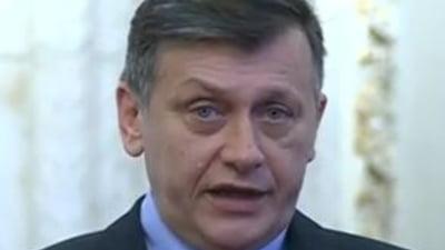 Antonescu i-a cerut Marianei Campeanu sa astepte pana luni cu demisia