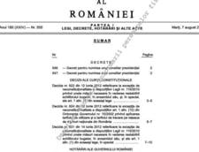 Antonescu i-a numit consilieri pe Gheorghe Rotaru, Vasile Enache, Daniel Barbu si Radu Zlati
