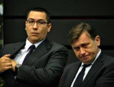 Antonescu ii trimite mesaje lui Ponta prin ministri. De cand nu au mai vorbit liderii USL (Video)
