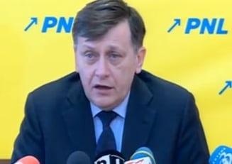 Antonescu il contreaza pe Ponta: Nu cred ca o campanie electorala de un an este binevenita