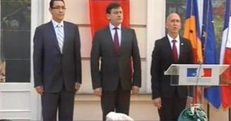 Antonescu si Ponta, discursuri de Ziua Frantei: Vive la France, vive la Roumanie! (Galerie foto)