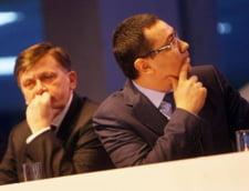 Antonescu si Ponta, in campanie: A inceput duelul - programe diferite, sageti si ironii