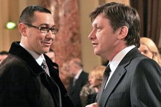 Antonescu si Ponta discuta despre noii ministri PNL