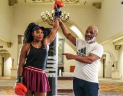Antrenament inedit pentru Serena Williams