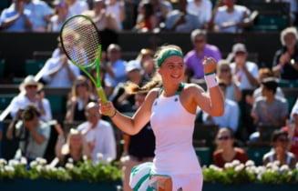 Antrenoarea Jelenei Ostapenko, despre meciul cu Simona Halep din finala Roland Garros