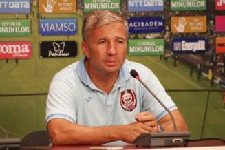 Antrenorul CFR Cluj, Dan Petrescu, testat pozitiv cu COVID- 19