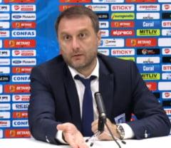 Antrenorul Craiovei a rabufnit: E incredibil! In tara asta e o greseala sa faci performanta!