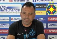 """Antrenorul FCSB, dupa egalul cu Viitorul: """"E un punct castigat, desi am controlat jocul"""""""