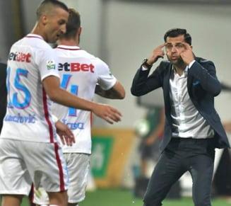 Antrenorul FCSB preia discursul lui Hagi: Noi suntem in Romania, probabil nu vor sa avem echipe in grupe