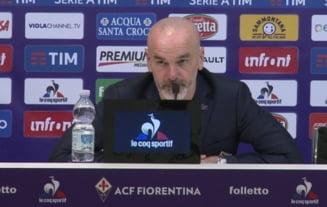 Antrenorul Fiorentinei ii raspunde lui Gica Hagi