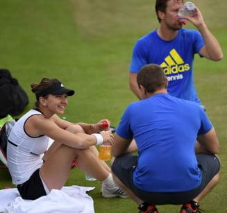 Antrenorul Simonei Halep, prima reactie dupa calificarea romancei in semifinale la Wimbledon