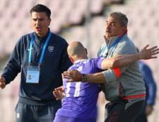 Antrenorul lui ACS Poli Timisoara a incercat sa bata un jucator de la propria echipa: Am vrut sa-l omor