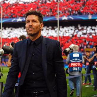 Antrenorul lui Atletico Madrid, Diego Simeone, este infectat cu virusul COVID-19