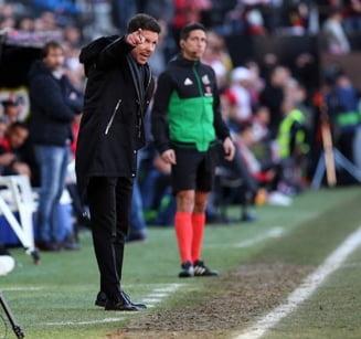 Antrenorul lui Atletico Madrid, gesturi obscene in timpul victoriei cu Juventus din Champions League