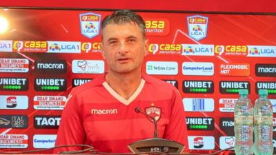 """Antrenorul lui Dinamo a dat declarația zilei: """"Du-te acasă dacă nu ai chef să munceşti!"""""""