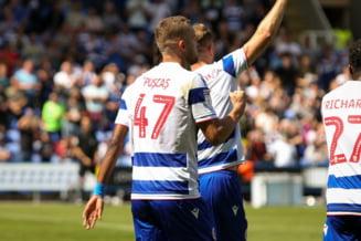 Antrenorul lui George Puscas de la Reading il lauda pe roman dupa cele doua goluri marcate: O finalizare individuala fantastica