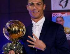 Anul lui Cristiano: Ronaldo l-a invins clar pe Messi in lupta pentru Balonul de Aur