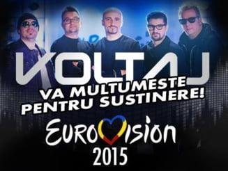 Anunt de ultima ora de la Voltaj, despre piesa care reprezinta Romania la Eurovision (Video)