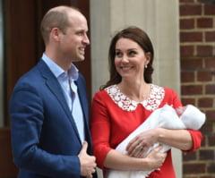 Anunt oficial: Numele celui de-al treilea bebelus regal din UK