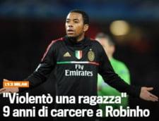 Anunt soc: Robinho, condamnat la 9 ani de inchisoare!