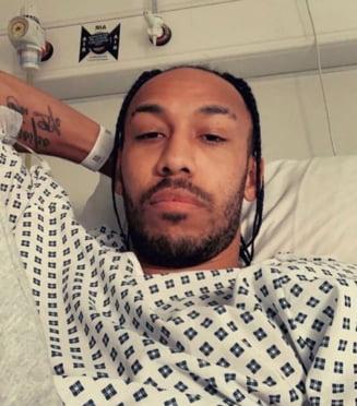 Anunt soc din Anglia: Pierre Aubameyang de la Arsenal are malarie. Boala poate duce chiar la deces