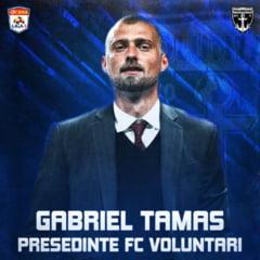 Anunt surprinzator in Liga 1: Gabi Tamas, noul presedinte - jucator de la FC Voluntari. Ce va face Ioan Andone