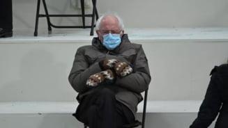 Anuntul senatorului american Bernie Sanders, dupa ce a strans 1,8 milioane de dolari cu fotografia sa devenita virala dupa ziua investirii