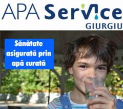 Apa Service SA Giurgiu: COMUNICAT privind CALITATEA APEI