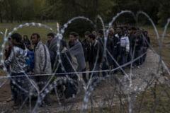 Aparare anti-imigranti: O tara UE inlocuieste sarma ghimpata cu un gard cu grilaj