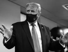 """Aparitie rara a lui Donald Trump. Presedintele SUA promoveaza purtarea mastii drept """"patriotica"""", dupa ce a minimalizat importanta ei luni intregi"""
