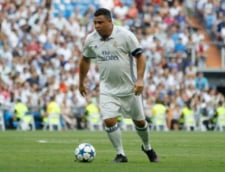 Aparitie socanta a lui Ronaldo la un meci al legendelor lui Real Madrid