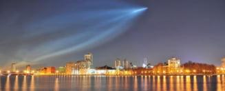Aparitie socanta pe cerul Rusiei: Vortex in spatiu-timp sau racheta?