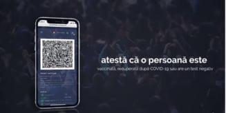 Aplicația care permite verificarea certificatelor verzi, lansată de autorități. Cum poate fi obținută VIDEO
