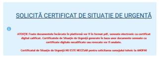 Aplicatia pentru obtinerea certificatelor de urgenta e gata. Chirie si utilitati, amanate la plata