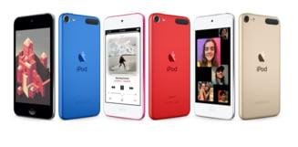 Apple a lansat un nou model de iPod, primul dupa o pauza de patru ani