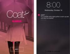 Applicatie Apple care ne spune cum sa ne imbracam cand plecam de acasa