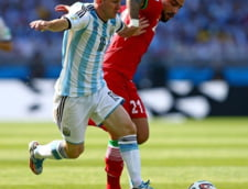 Aproape de o noua supriza uriasa la CM 2014: Messi salveaza Argentina