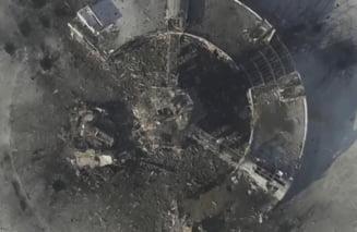 Aproape intreg teritoriul pe care se afla aeroportul din Donetk, recapturat de ucraineni