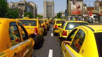 Aproximativ 3.500 de taximetristi vor protesta, pe 18 noiembrie, in Capitala