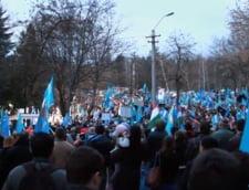 Aproximativ 4.500 de persoane au participat la Marsul Secuilor de la Targu Mures