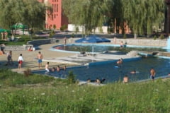 Aqua Park-ul din Satu Mare, model pentru strandul Broscarie din Salaj